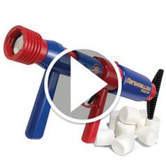 Watch The Pump Action Marshmallow Blaster in action