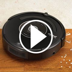 Watch The Autonomous Robotic Vacuum in action