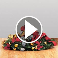 Watch how in just three easy steps you can completely assemble this 6 1/2' Christmas tree