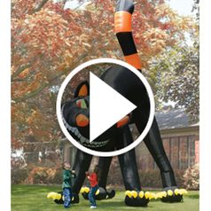Watch The Two Story Inflatable Black Cat. in action