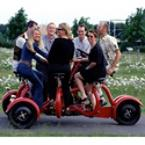 The Seven-Person Conference Bicycle