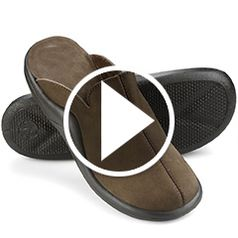 Watch The Gentlemen's Walk on Air Indoor/Outdoor Slippers in action