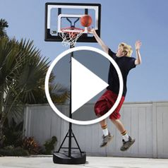 Watch The Pool To Pavement Basketball Hoop in action