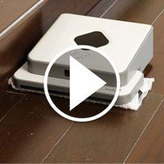 Watch The Autonomous Hardwood Floor Wet/Dry Mop in action
