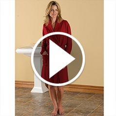 Watch The Lady's Washable Cashmere Robe in action