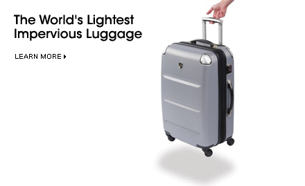 The World\' s Lightest Impervious Luggage