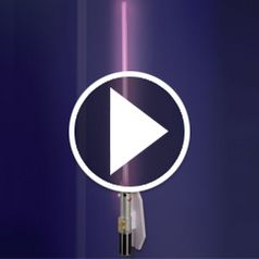 Watch The Lightsaber Wall Sconce in action