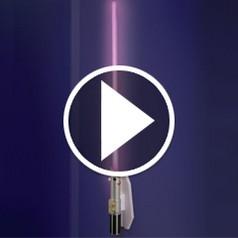 The Lightsaber Wall Sconce - Hammacher Schlemmer