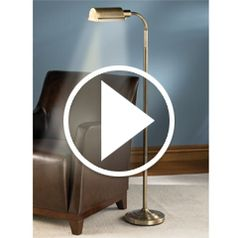 Play video for The Cordless Reading Lamp