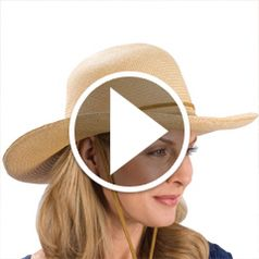 Watch The Lady's Packable Hat in action