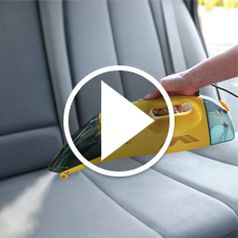 Watch The Only Handheld Wet/Dry Steam Vacuum in action