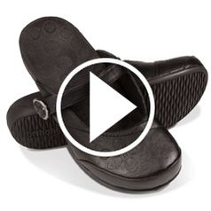 Watch  The Lady's Plantar Fasciitis Mule Slides in action