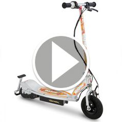Watch The Spark Emitting Electric Scooter in action