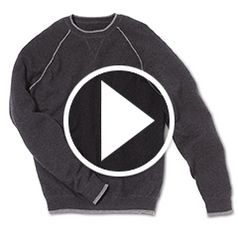 Play video for The Washable Cashmere Sweatshirt