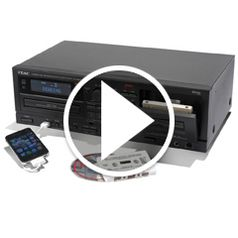Watch The Only Audio Restoring Cassette To CD Converter in action