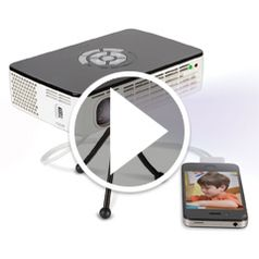 Watch The Brightest Image Rechargeable Projector in action