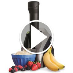 Watch The Frozen Fruit Soft Serve Processor in action
