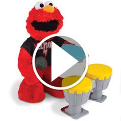 Watch While The Instrument Playing Elmo in action