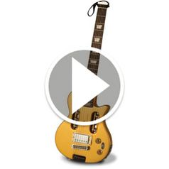 Watch The Electric Travel Guitar in action