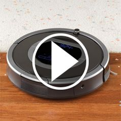 Watch The Dirt Detecting Robotic Vacuum in action