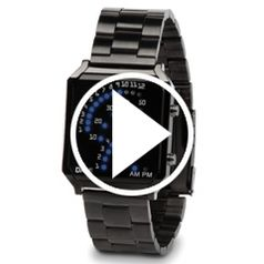 Watch The TriArch LED Watch in action
