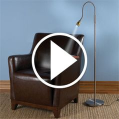 Play video for The Brightness Zooming Natural Light Lamp