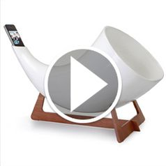 Watch The Ceramic Iphone Megaphone in action