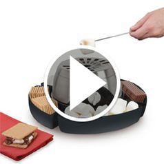 Play video for The Indoor Flameless Marshmallow Roaster