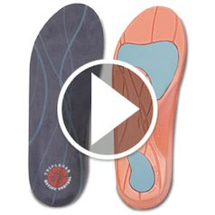 Watch The Plantar Fasciitis Insoles in action