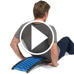 Play video for The Back Stretching Pain Reliever