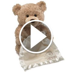 Watch The Peek-A-Boo Animated Bear in action