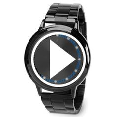 Watch The Circular Array LED Watch in action