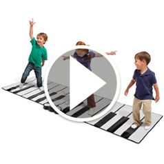 Play video for The Worlds Largest Toe Tap Piano