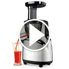 Watch The Whisper Quiet Juicer in action
