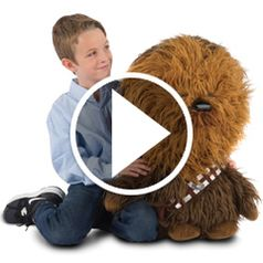 Watch  The Mini Talking Chewie in action