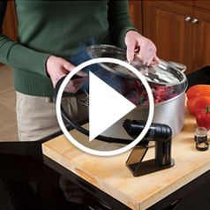 Watch The Only Handheld Food Smoker in action