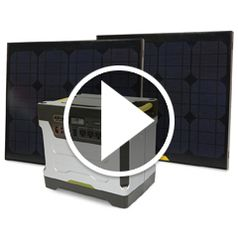 Watch The Solar Power Generator in action