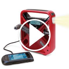 Watch The Best Emergency Radio in action