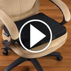 Play video for The Truck Drivers Pressure Relieving Cushion