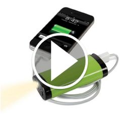 Watch The One Year Smartphone Backup Battery in action