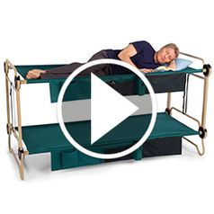 Watch The Foldaway Adult Bunk Beds in action