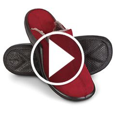 Watch The Lady's Walk on Air Sheepskin Slippers in action