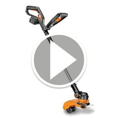 Watch The Best Rechargeable Yard Trimmer in action