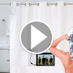 Watch The iPad Musical Shower Curtain in action