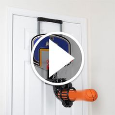 Play video for The Automatic Return Indoor Basketball Net