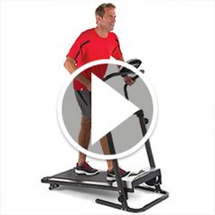 Watch The Walkers Foldaway Treadmill in action