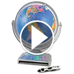 Watch  The The Four Language Talking Globe in action