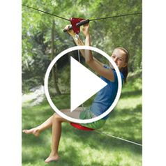 Play video for The Seated Backyard Zipline Kit