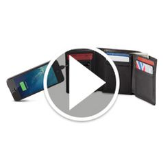 Watch	The Smartphone Charging Wallet in action