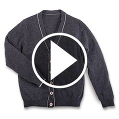 Watch The Gentleman's Washable Cashmere Cardigan in action